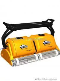 海豚2*2Pro Gyro双体吸污机 全自动水下吸尘器 池底吸污清洁机