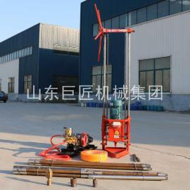 巨匠25米小型旋挖钻机QZ-2A地质勘探钻机取岩心 小型钻机
