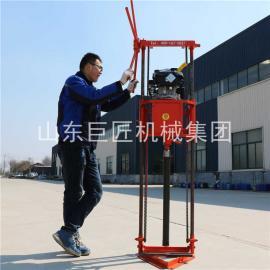 25米岩心勘探钻机QZ-2B汽油型轻便取样钻机一套配齐加油即用