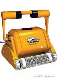 海豚3002全自动水下吸尘器 池底吸污机水池 水乌龟清洗机