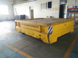 40t无轨铸件模具搬运车 搬运浇铸车间模具电动无轨平板车