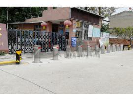 路桩品类 液压升降柱路桩 不锈钢液压一体式升降柱 阻车升降柱