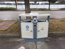 街道户外垃圾桶镇.江市政分类果皮箱-公园景区分类垃圾桶
