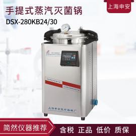 申安DSX-30L手提式高压蒸汽灭菌器
