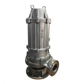 wqp潜水排污泵全不锈钢污水泵 304抽化工污水泵耐酸碱潜污水泵