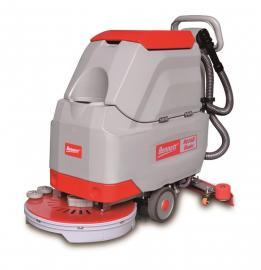 工厂车间环氧树脂地面保洁用洗地机 贝纳特手推式洗地机S510B