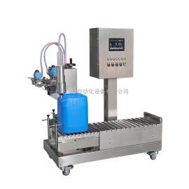 广志5升到25升腐蚀性强液体称重式灌装机GZM