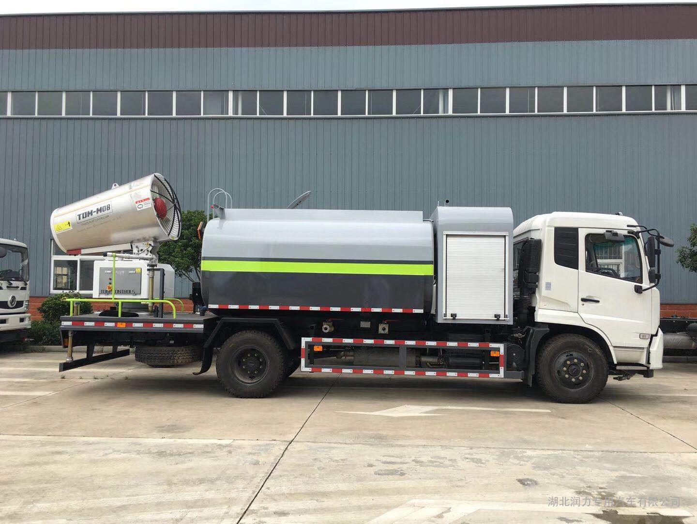 国六10吨工地降尘洒水车