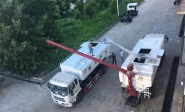 30立方15吨饲料厂运输车详细配置