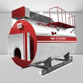 WNS型号燃气蒸汽锅炉 低氮环保天然气锅炉