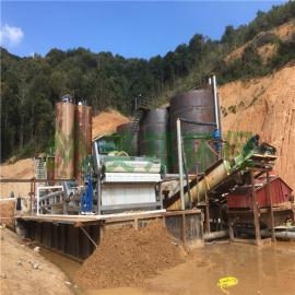 河道淤泥干堆机建筑泥浆脱水处理植物压榨机