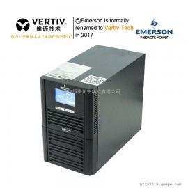 艾默生UPS GXE-10k00TLA102C00 10KVA/8000W外接电池