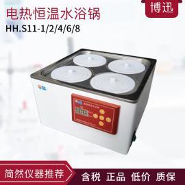 博迅博迅HH.S11-1/2/4/6/8电热恒温水浴锅