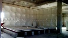 原水处理玻璃钢人孔消防水箱