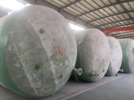 泽润整体形玻璃钢生态环保化粪池