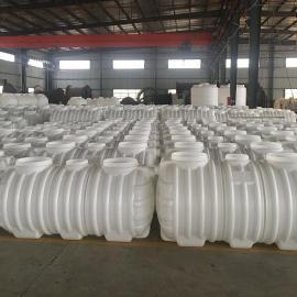 新农村吹塑成型0.8立方化粪池污水处理塑料化粪池