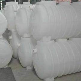 旱厕改造吹塑成型2立方化粪池污水处理塑料化粪池