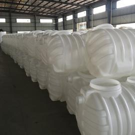 耐腐蚀PE0.8m3化粪池三格式塑料化粪池