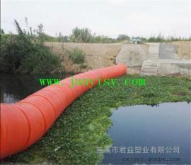 电站拦截渣塑料浮筒 分布式拦污塑料浮筒 直径500*800浮筒