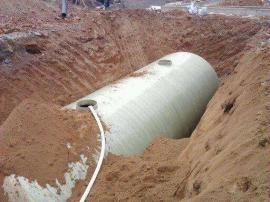 模压玻璃钢化粪池 组合式预制化粪池