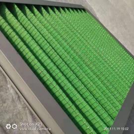 初效G4复合网空气过滤器 密褶式板式空气过滤器 可非标定制