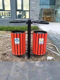 景区塑木垃圾桶果皮箱-小区物业垃圾桶-塑木垃圾桶生产-