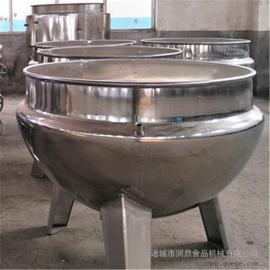 电加热立式夹层锅 食品蒸煮夹层锅 药材蒸煮锅 不锈钢夹层锅