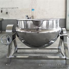电加热搅拌夹层锅 电加热夹层锅 可倾斜夹层锅 蒸汽夹层锅