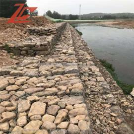 宾格笼施工安装方案 雷诺护垫护坡技术 拦河坝铅丝笼不生锈