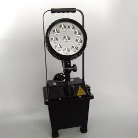 户外移动泛光灯yj2201带蓄电池投光灯