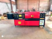 新红机械*制造 双曲线钢管调直除锈刷漆一体机