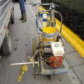 双枪头手推式冷喷划线机注塞泵头
