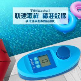 游泳池�O�� 水�|�z�y�x器 �_�S邦手持式 浴池泳池�y�分析�x