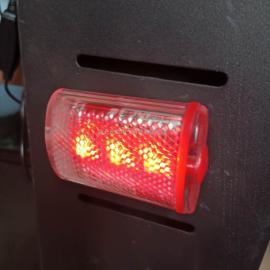 YJ1800肩佩式消防员红色强光防爆方位灯