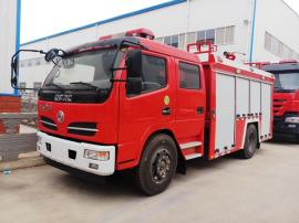 JDF5102GXFSG40水罐消防车|东风多利卡4吨水罐消防车