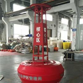 柏泰定制塑料警示航标灯 海面塑料灯塔 航道灯塔 大型浮标