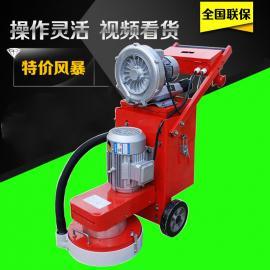 水泥地面抛光打磨机 手推找平机环氧地坪无尘研磨机