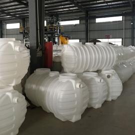 新农村PE3m3化粪池三格式塑料化粪池