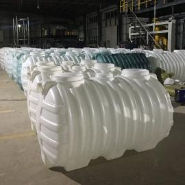 耐腐蚀无缝隙0.6立方化粪池塑料PE化粪池