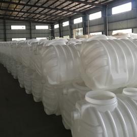 整体密封PE3m3化粪池污水处理塑料化粪池