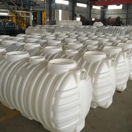 不渗漏一体成型0.8立方化粪池塑料PE化粪池