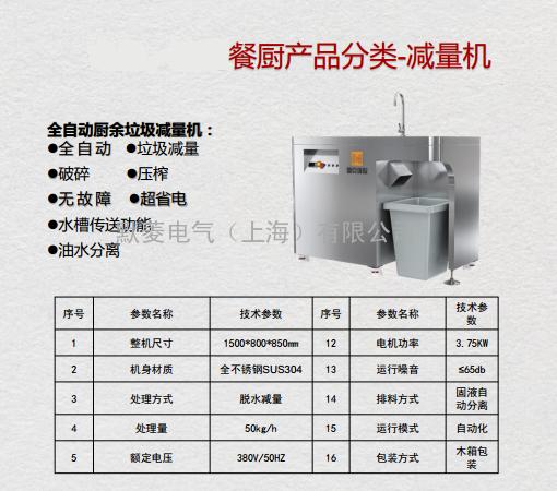 农贸市场专用湿垃圾减量机详细介绍