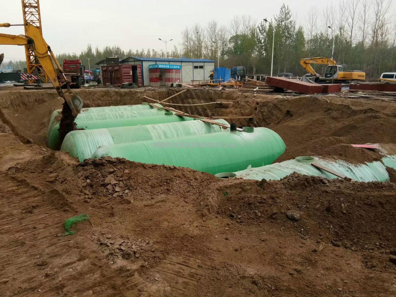 玻璃钢化粪池现货1--100立方米化粪池