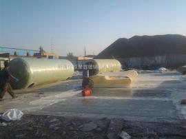 100吨化粪池100立方米玻璃钢化粪池