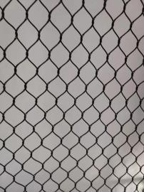 下水道防坠安全网 圆形污水井盖尼龙网 井口防护防坠安全网