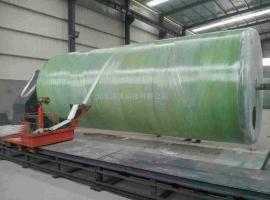 30立方米玻璃钢化粪池三格玻璃钢缠绕化粪池