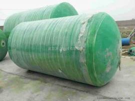 玻璃钢整体生物化粪池100吨国标化粪池