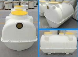 农村改造玻璃钢化粪池2立方米三格模压化粪池