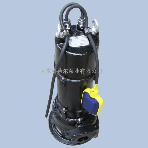 珂莱尔热销MPE300-2MA自动污水泵 潜水铰刀泵 双绞刀排污泵