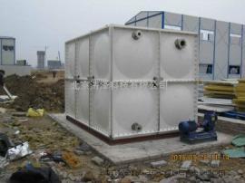 建筑工地玻璃钢水箱56吨玻璃钢消防水箱